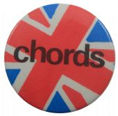 The Chords - 'Union Jack' Button Badge